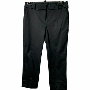 Chico's black Cropped trousers